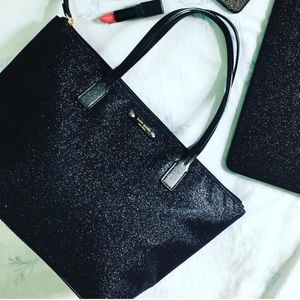 NWT Kate Spade Sparkle Hani Haven Lane Handbag